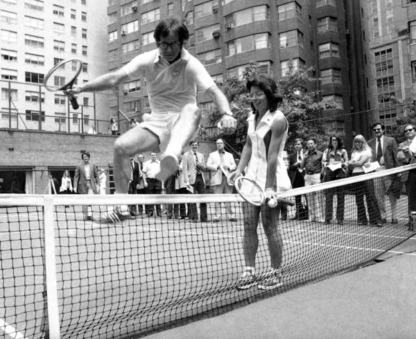 Gender equality tennis match 1973